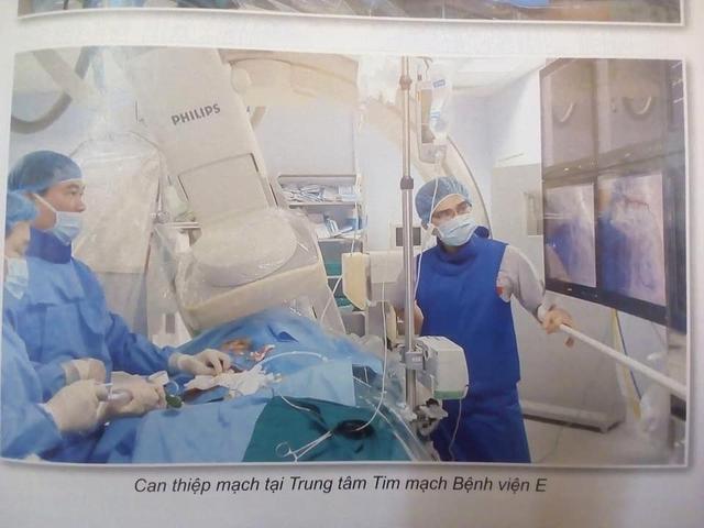 Trung tâm tim mạch Bệnh viện E - Nơi có những bàn tay vàng - 3