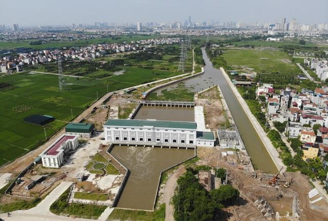 Toàn cảnh trạm bơm 7.464 tỷ đồng thoát nước cho phía Tây Hà Nội - 3
