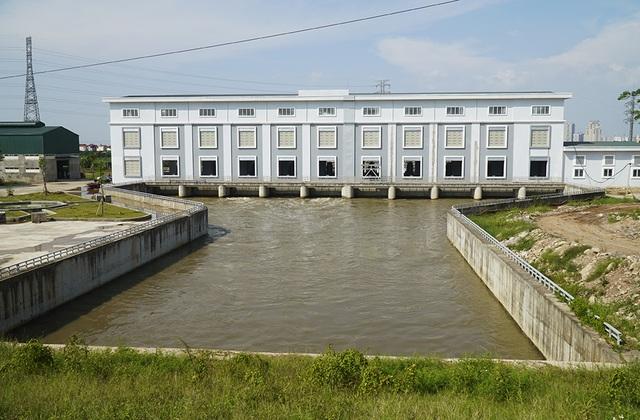 Toàn cảnh trạm bơm 7.464 tỷ đồng thoát nước cho phía Tây Hà Nội - 4