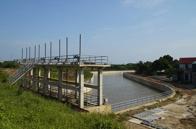Toàn cảnh trạm bơm 7.464 tỷ đồng thoát nước cho phía Tây Hà Nội - 6