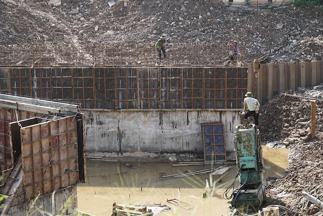 Toàn cảnh trạm bơm 7.464 tỷ đồng thoát nước cho phía Tây Hà Nội - 11