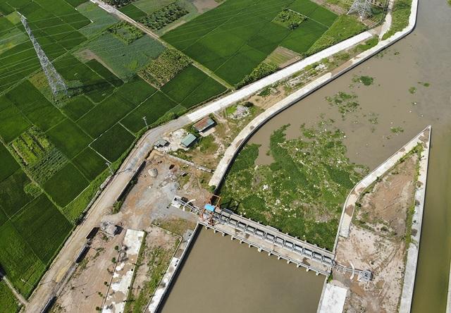 Toàn cảnh trạm bơm 7.464 tỷ đồng thoát nước cho phía Tây Hà Nội - 5