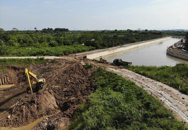 Toàn cảnh trạm bơm 7.464 tỷ đồng thoát nước cho phía Tây Hà Nội - 10