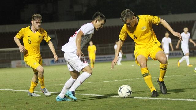 U18 Việt Nam thua đậm Australia tại giải U18 Đông Nam Á - 1