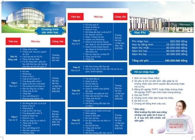 Trường ĐH Hà Nội: Xét tuyển học bạ ngành Quản trị Du lịch, Khách sạn và Lữ hành - 1