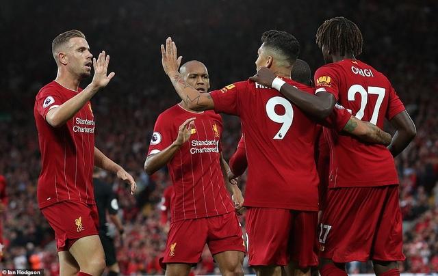 Liverpool vùi dập Norwich ngay trận khai màn Premier League - 1