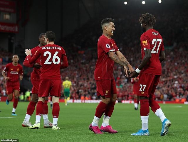 Những khoảnh khắc thăng hoa của Liverpool trước Norwich - 5