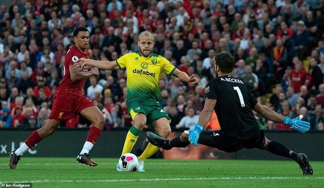 Những khoảnh khắc thăng hoa của Liverpool trước Norwich - 8