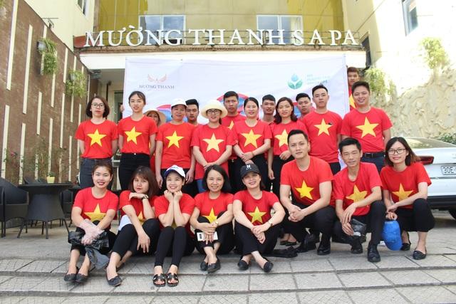 Nhân viên khách sạn Mường Thanh cùng tham gia chiến dịch làm sạch môi trường - 16