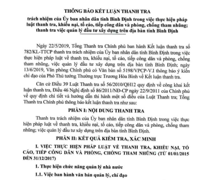 """""""Lộ"""" 10 cán bộ, công chức ở Bình Định liên quan đến tham nhũng - 2"""