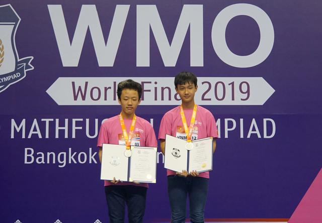 Việt Nam giành 2 huy chương Bạc tại Olympiad Toán thế giới 2019 - 1