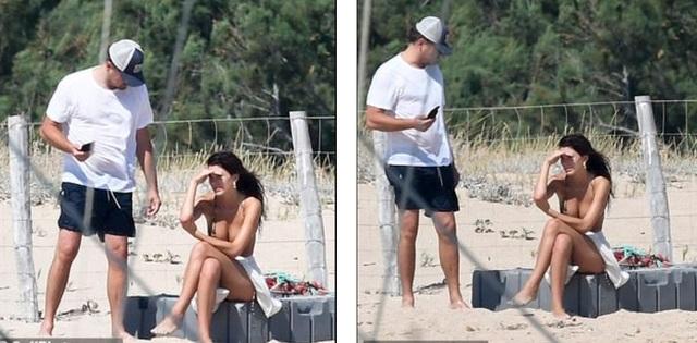 Leonardo DiCaprio lộ bụng phệ bên bạn gái kém 22 tuổi - 8