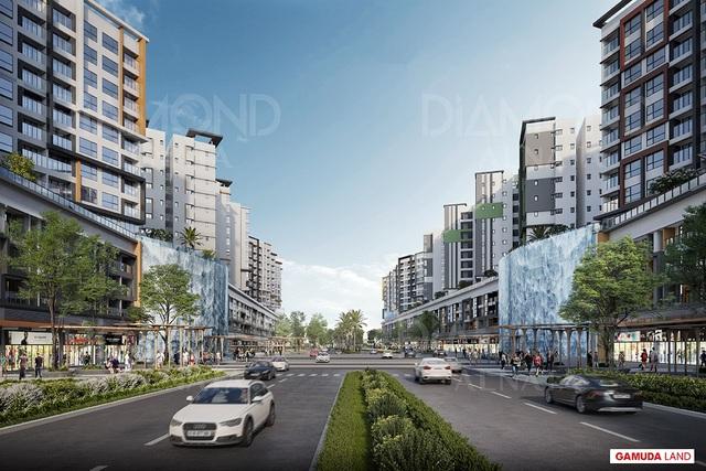Đại lộ Gamuda-Vũ điệu sôi động mang nhịp sống Sài Gòn - 1