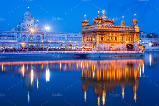 """""""Lóa mắt"""" ngôi đền bằng vàng bên hồ nước thiêng, phục vụ 100.000 suất ăn miễn phí mỗi ngày - 5"""