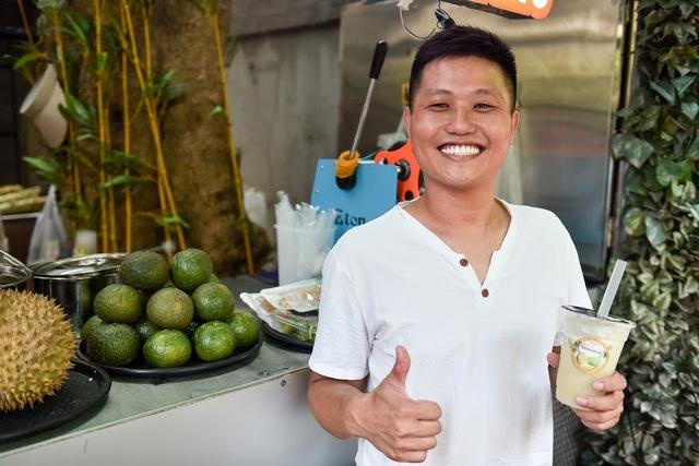 """""""Độc chiêu"""" pha nước mía với sầu riêng giúp chủ quán 8x ở Hà Nội thu lãi trăm triệu đồng/tháng - 6"""