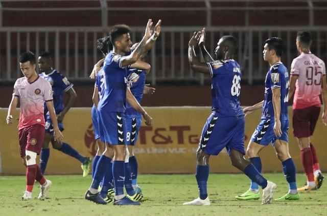 Trọng tài lại gây tranh cãi, Sài Gòn FC thua sát nút B.Bình Dương - 4