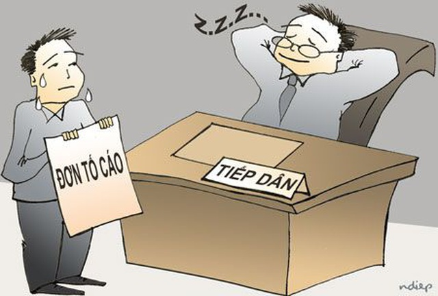 7 Sở ở Bình Định không có sổ sách ghi chép việc tiếp công dân định kỳ của lãnh đạo - 2
