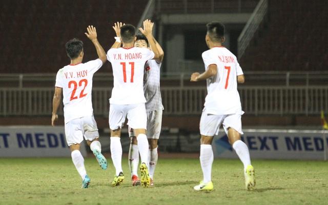 U18 Việt Nam thắng dễ Singapore tại giải U18 Đông Nam Á - 2