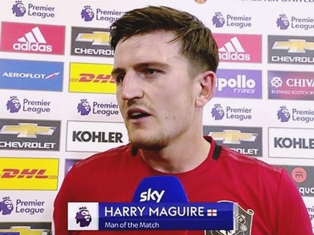 """""""Bom tấn"""" Harry Maguire nổ tưng bừng sau màn rực sáng ở trận gặp Chelsea - 1"""