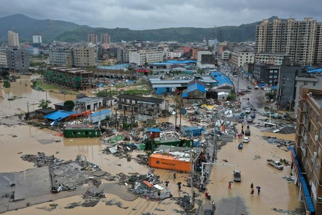Siêu bão Lekima đổ bộ Trung Quốc: 44 người chết, 16 người mất tích - 2