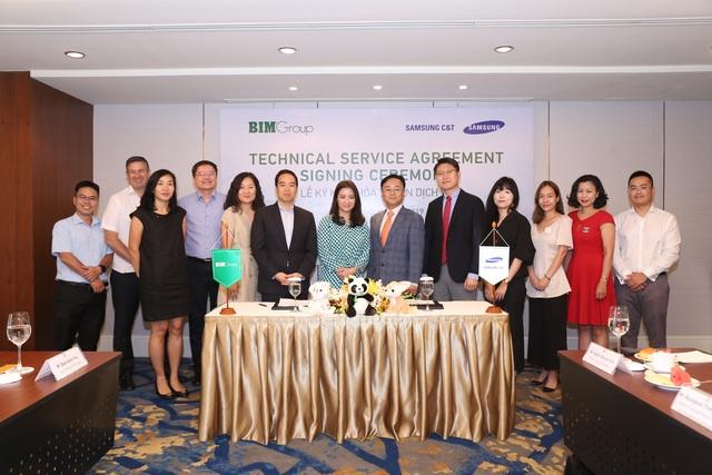 Bim Group kí kết thỏa thuận dịch vụ kỹ thuật với Samsung CT nhằm phát triển dự án công viên nước Phu Quoc Marina - 2