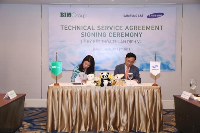 Bim Group kí kết thỏa thuận dịch vụ kỹ thuật với Samsung CT nhằm phát triển dự án công viên nước Phu Quoc Marina - 3