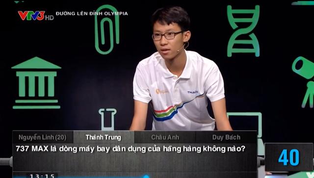 Thí sinh Tiền Giang giành số điểm cao thứ 3 Olympia 2019 - 1