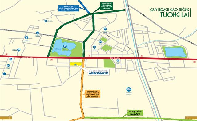 Shop Villas Apromaco – BĐS tại tâm điểm quy hoạch hạ tầng phía Nam Hà Nội - 2
