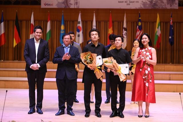 Giải thưởng gần 1 tỷ đồng cuộc thi violin và hòa tấu thính phòng đã có chủ - 1