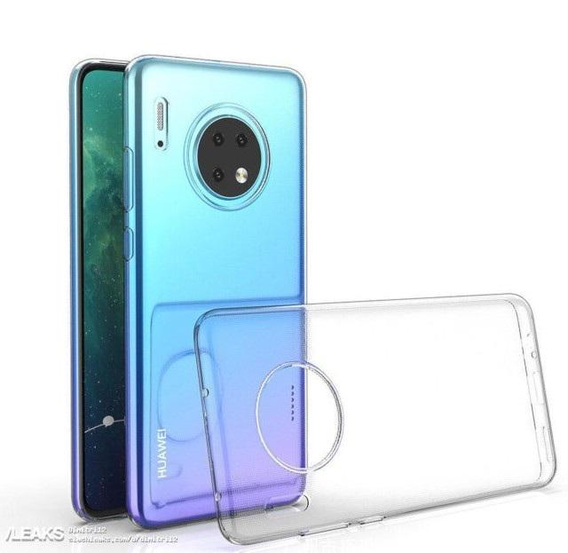 Lộ ảnh smartphone Huawei Mate 30 với thiết kế cụm camera tròn siêu độc - 2
