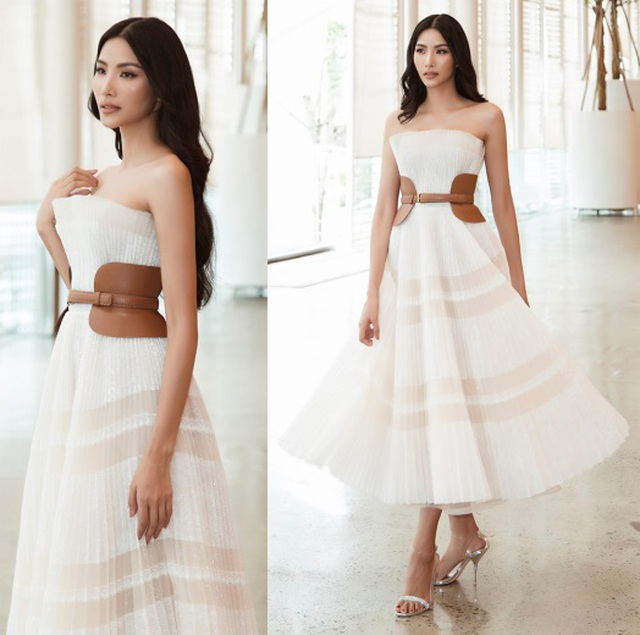 Hoa hậu Kỳ Duyên, Tóc Tiên diện váy xẻ sâu khoe vòng 1 - 8