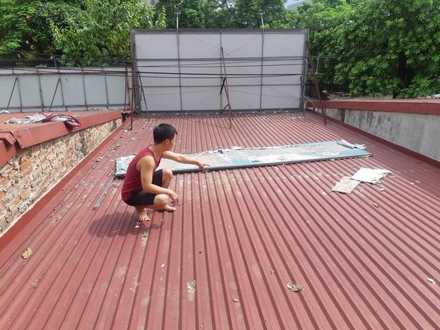 Hà Nội: Tiệm vàng bị trộm dỡ mái tôn đột nhập cuỗm mất 1,8 tỷ đồng - 2