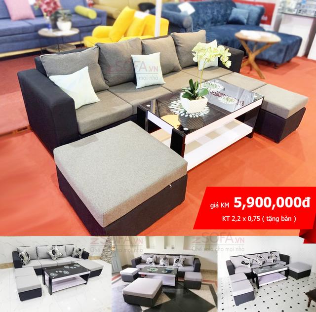 Đại tiệc mua sắm sofa khuyến mãi cực lớn chỉ có tại ZSOFA - 3