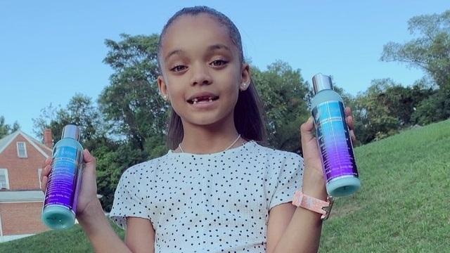 Nhờ một đăng tải của Rihanna, bé gái 7 tuổi ngay lập tức trở thành người mẫu nhí được săn đón - 3