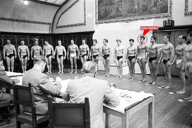 """""""Điệp viên 007"""" Sean Connery từng đi thi Mr Universe khoe cơ bắp lực lưỡng - 1"""