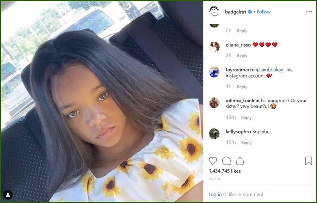 Nhờ một đăng tải của Rihanna, bé gái 7 tuổi ngay lập tức trở thành người mẫu nhí được săn đón - 2