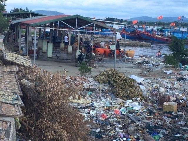 Ám ảnh với ô nhiễm tại cảng cá lớn nhất Bắc Trung Bộ - 3