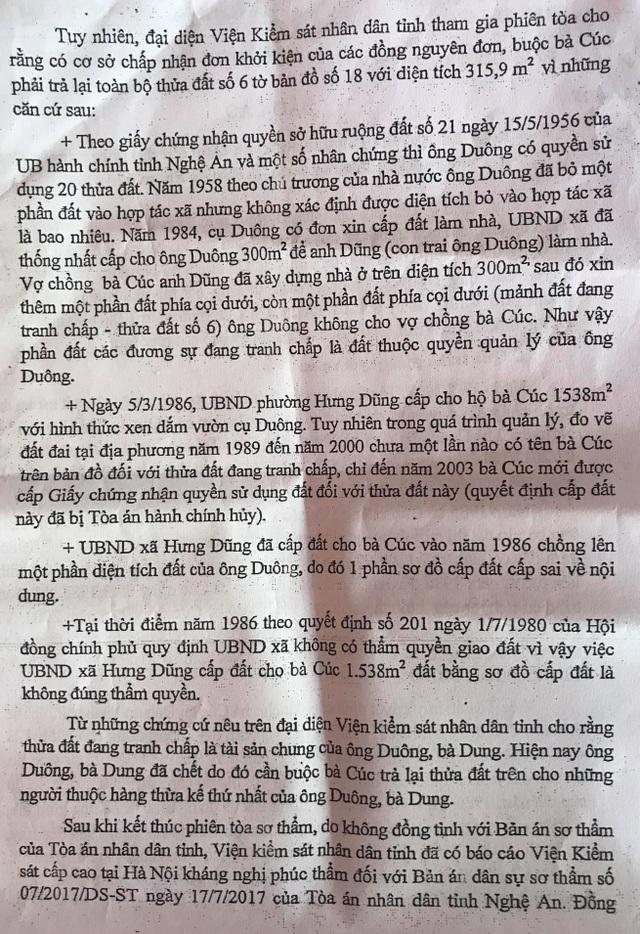 Tỉnh ủy Nghệ An chỉ đạo xử lý dứt điểm vụ gần 15 năm người dân mòn mỏi đi đòi đất - 3