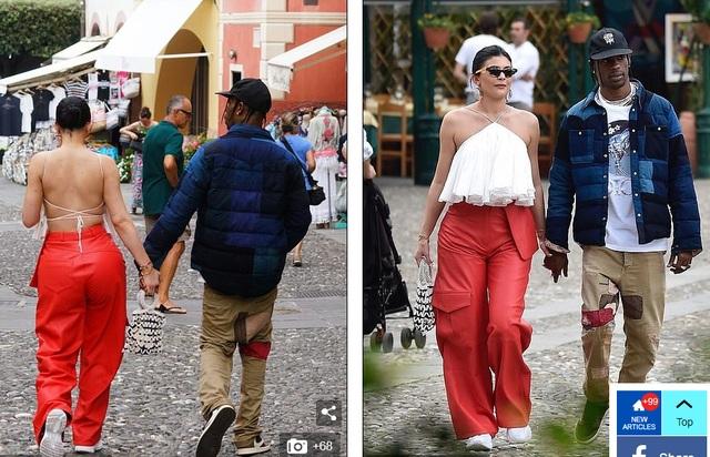 Kylie Jenner khoe ngực đầy đặn khi diện váy đồng màu với con gái - 10