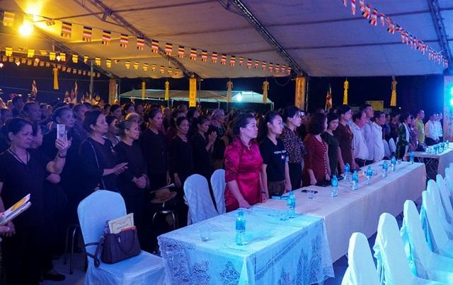 Hình ảnh xúc động trong lễ Vu Lan báo hiếu ở chùa Kim Sơn Lạc Hồng - 1