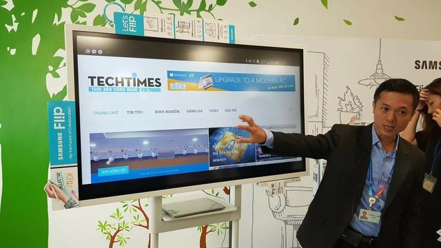 Bắt tay CMS, Samsung muốn chiếm lĩnh thị trường bảng tương tác tại Việt Nam - 2