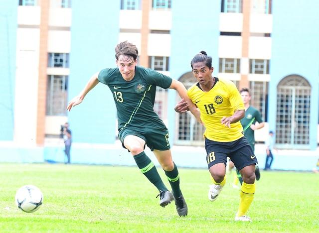U18 Malaysia gây sốc nặng khi thắng đậm Australia tại giải Đông Nam Á - 1