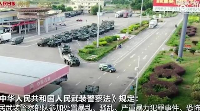 Xe thiết giáp Trung Quốc xuất hiện gần Hong Kong - 4