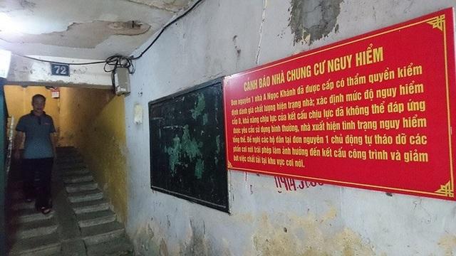 Hà Nội: Người dân bám trụ tại chung cư cũ nát đến bao giờ? - 1