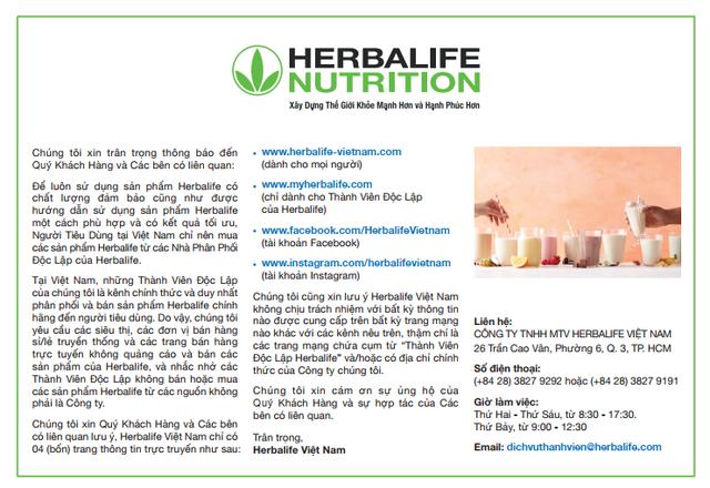 Nên mua sản phẩm từ nhà phân phối độc lập của Herbalife - 1