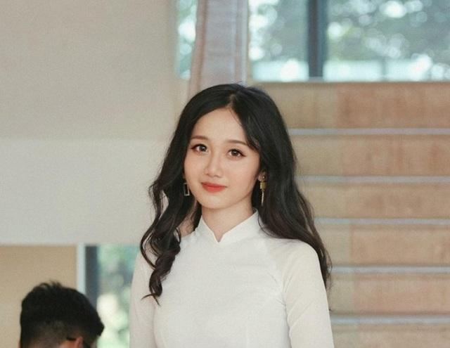 """Nữ sinh Lào Cai xinh đẹp, được ví như """"thiên thần ảnh thẻ"""" - 3"""