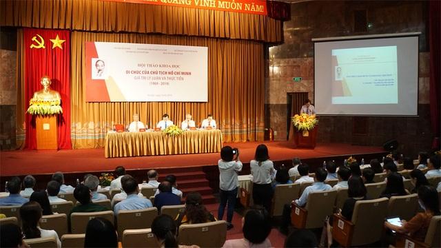 Di chúc của Chủ tịch Hồ Chí Minh - Giá trị lý luận và thực tiễn - 1