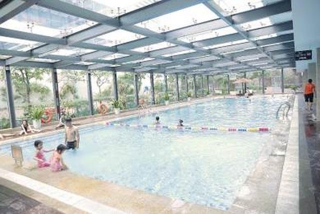 """Cư dân nhí trải nghiệm mùa hè """"cực đã"""" tại bể bơi Vinhomes - 1"""