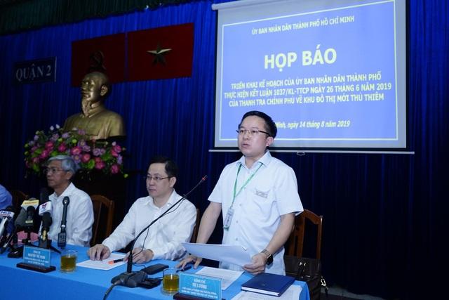 TPHCM công bố kế hoạch khắc phục sai phạm tại Thủ Thiêm - 2