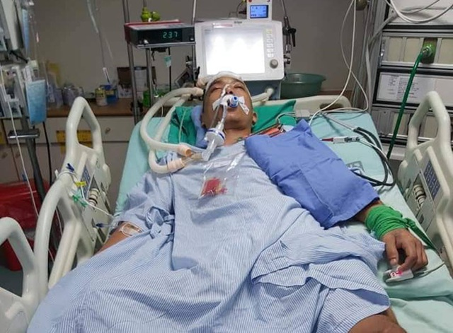 Mẹ già cạn nước mắt ngày ngày dõi tin con điều trị đột quỵ ở xứ Đài - 3